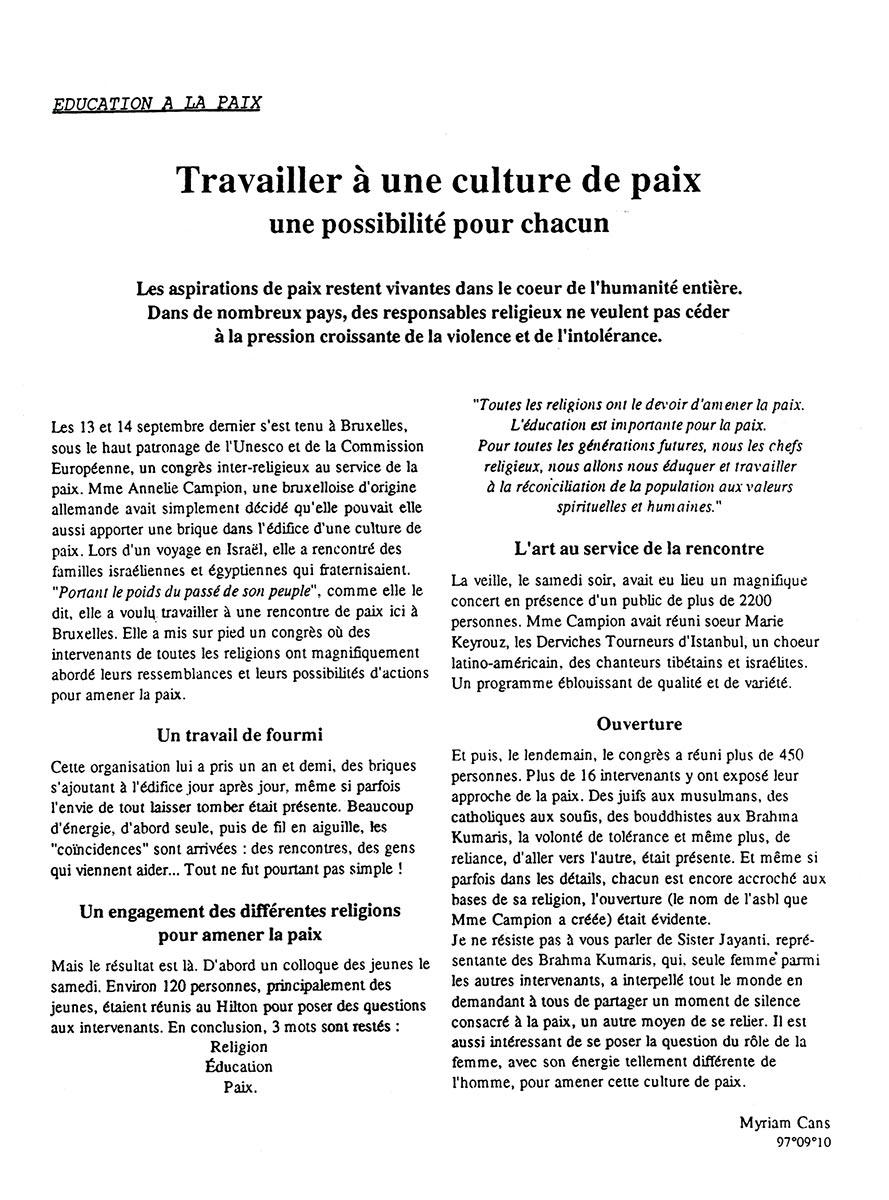 France inter journée de la femme
